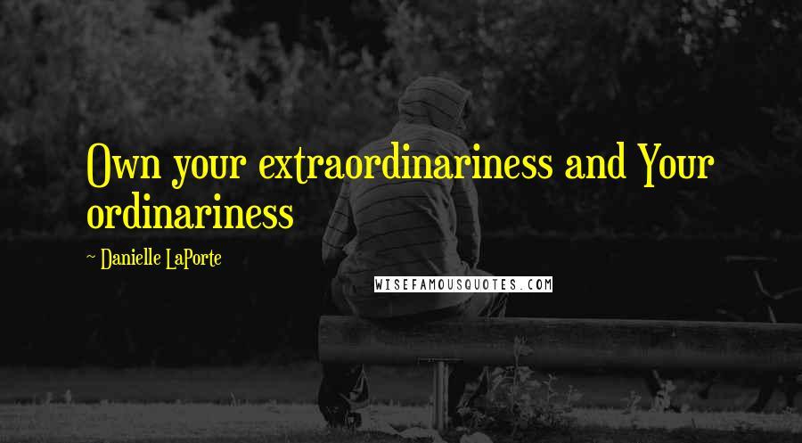 extraordinariness