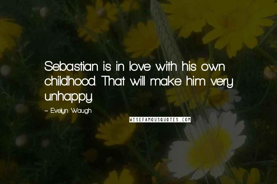 evelyn waugh quotes sebastian is in love his own childhood