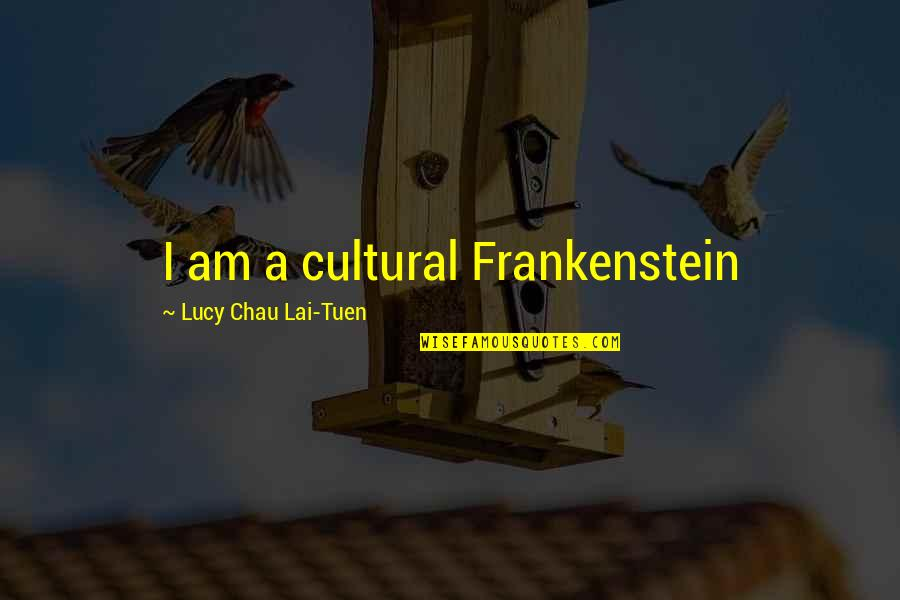 21 And Legal Quotes By Lucy Chau Lai-Tuen: I am a cultural Frankenstein