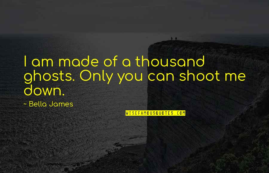 21st Quotes By Bella James: I am made of a thousand ghosts. Only