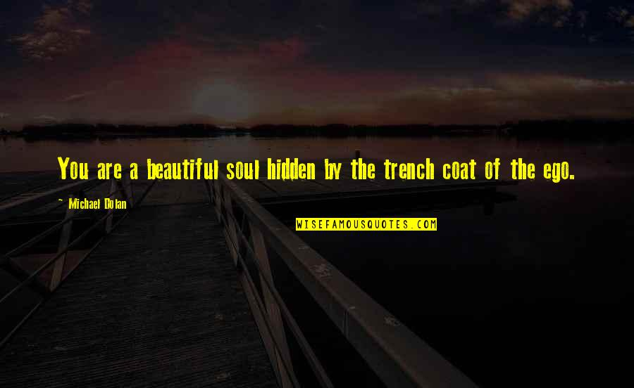 A Beautiful Soul Quotes By Michael Dolan: You are a beautiful soul hidden by the