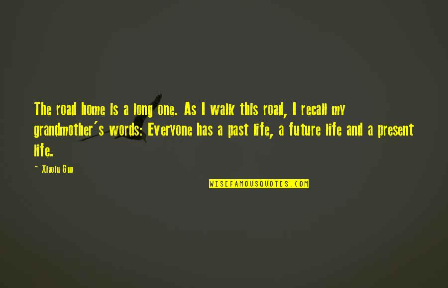 A Long Road Quotes By Xiaolu Guo: The road home is a long one. As