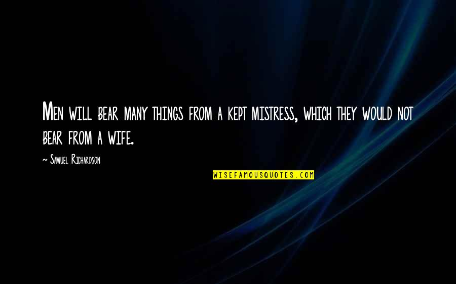 Mistress to wife quotes Why Men