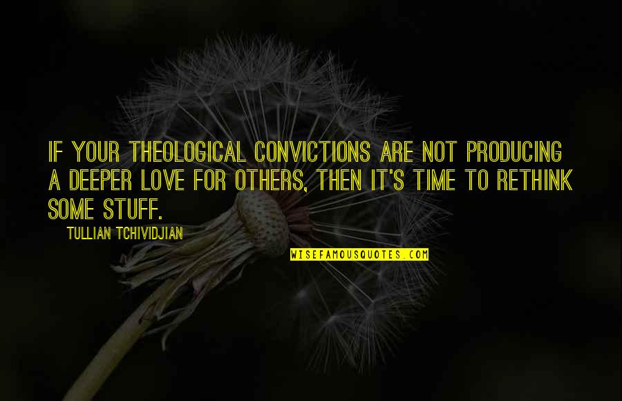 Aaron Sorkin Movie Quotes By Tullian Tchividjian: If your theological convictions are not producing a