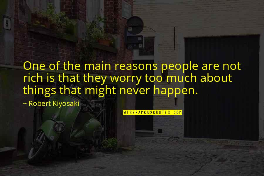 About Motivational Quotes By Robert Kiyosaki: One of the main reasons people are not
