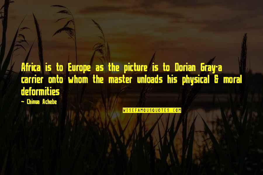 Achebe's Quotes By Chinua Achebe: Africa is to Europe as the picture is