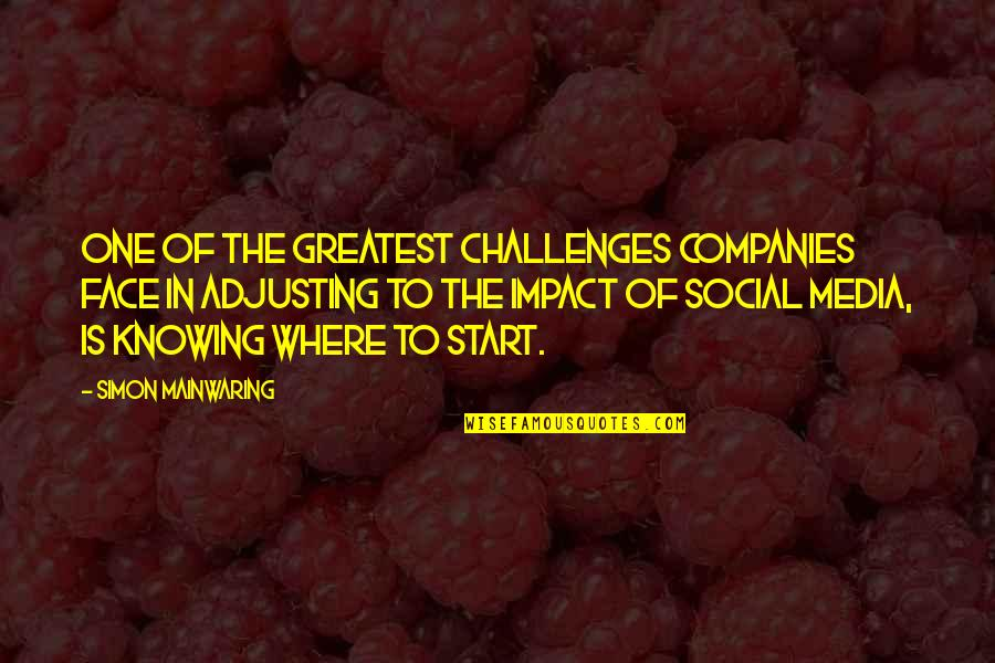 Adjusting Quotes By Simon Mainwaring: One of the greatest challenges companies face in