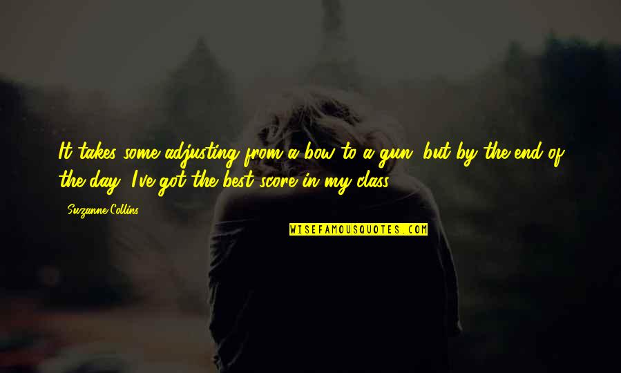 Adjusting Quotes By Suzanne Collins: It takes some adjusting from a bow to