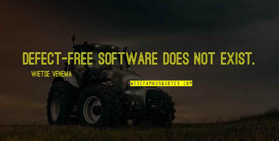 Adorneth Quotes By Wietse Venema: Defect-free software does not exist.