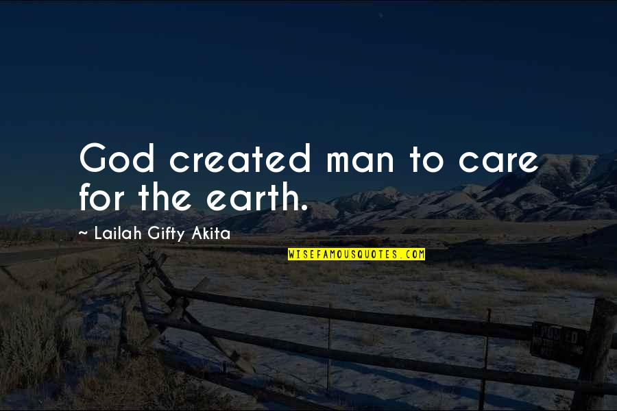 Affordable Homeowners Insurance Quotes By Lailah Gifty Akita: God created man to care for the earth.
