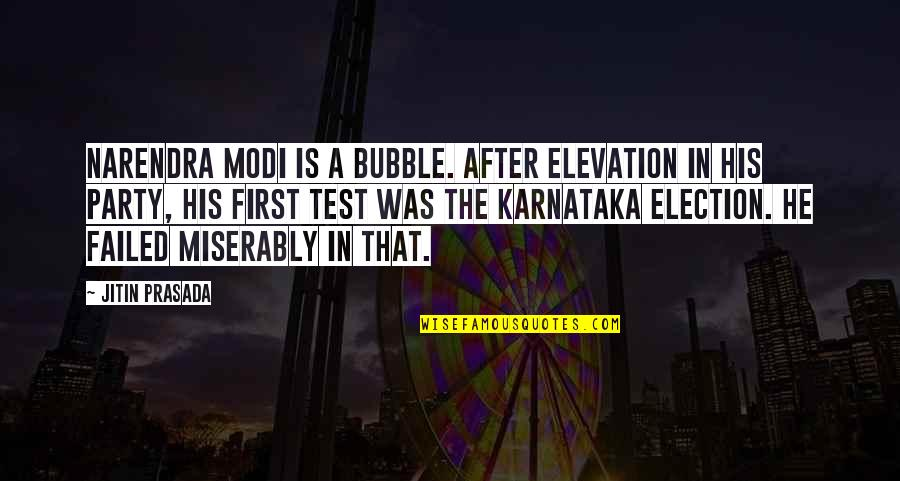 After The Party Quotes By Jitin Prasada: Narendra Modi is a bubble. After elevation in