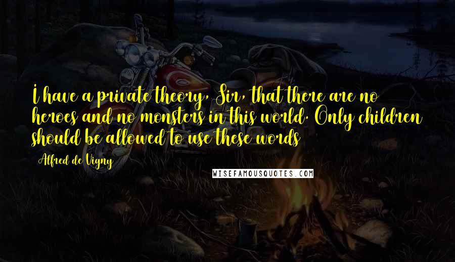 poems of Alfred de Vigny
