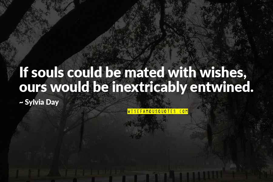 All Souls Day Quotes By Sylvia Day: If souls could be mated with wishes, ours