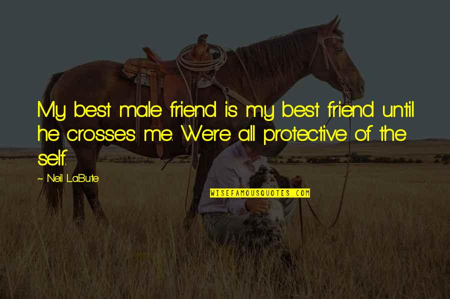 All The Best Quotes By Neil LaBute: My best male friend is my best friend