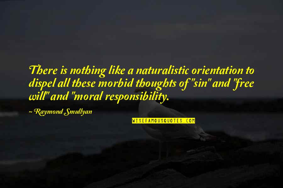 All To Nothing Quotes By Raymond Smullyan: There is nothing like a naturalistic orientation to