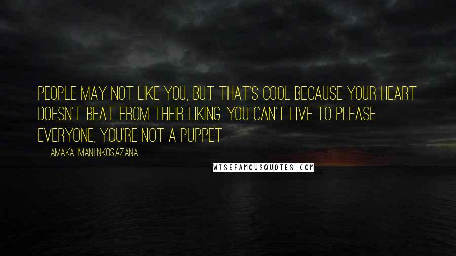 Amaka Imani Nkosazana Quotes Wise Famous Quotes Sayings And