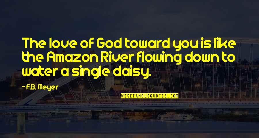 Amazon Love Quotes By F.B. Meyer: The love of God toward you is like