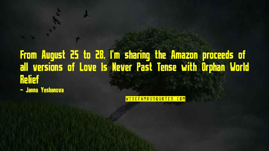 Amazon Love Quotes By Janna Yeshanova: From August 25 to 28, I'm sharing the