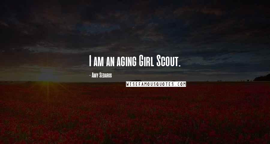 Amy Sedaris quotes: I am an aging Girl Scout.