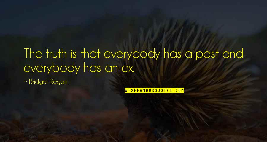 An Ex Quotes By Bridget Regan: The truth is that everybody has a past