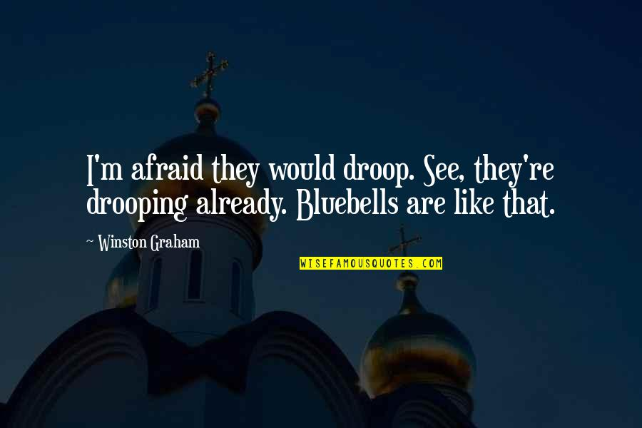 Ancient Roman Religion Quotes By Winston Graham: I'm afraid they would droop. See, they're drooping