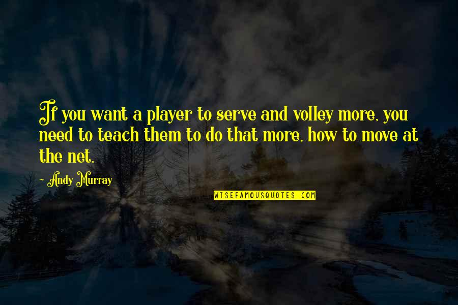 Andy Murray Quotes By Andy Murray: If you want a player to serve and