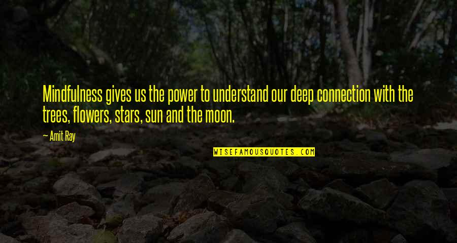 Anne Frank Margot Quotes By Amit Ray: Mindfulness gives us the power to understand our