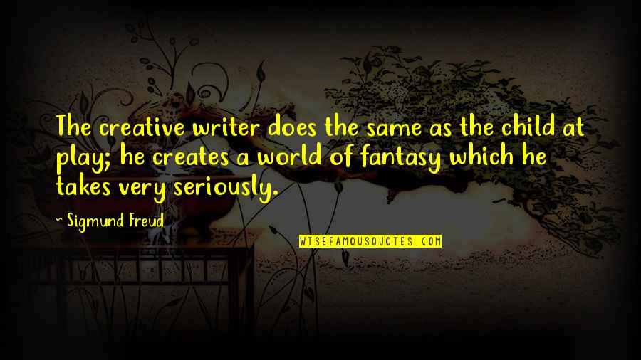 Anne Frank Margot Quotes By Sigmund Freud: The creative writer does the same as the
