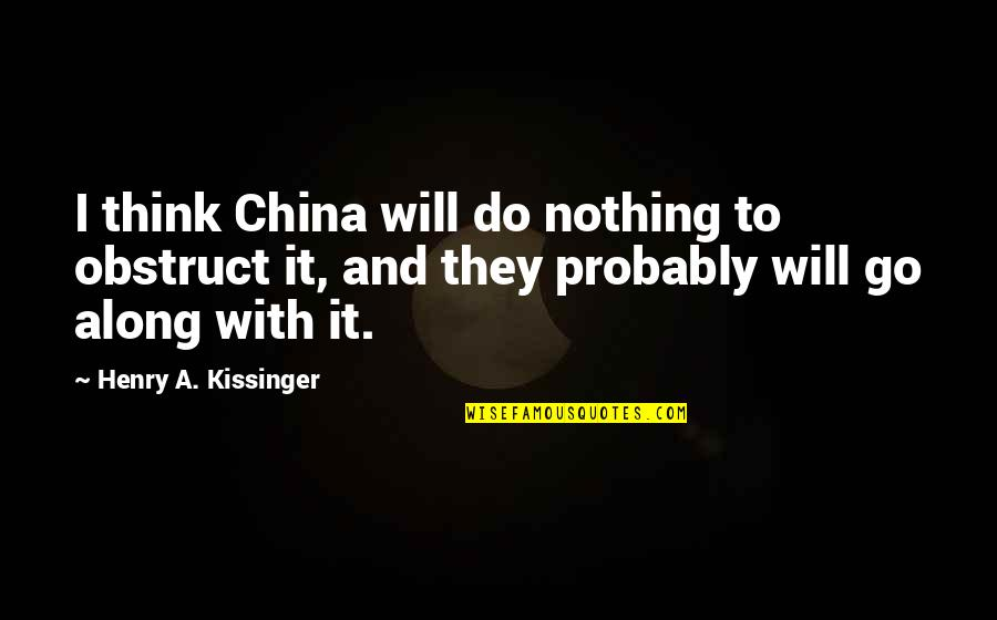 Apa Guidelines Citing Quotes By Henry A. Kissinger: I think China will do nothing to obstruct