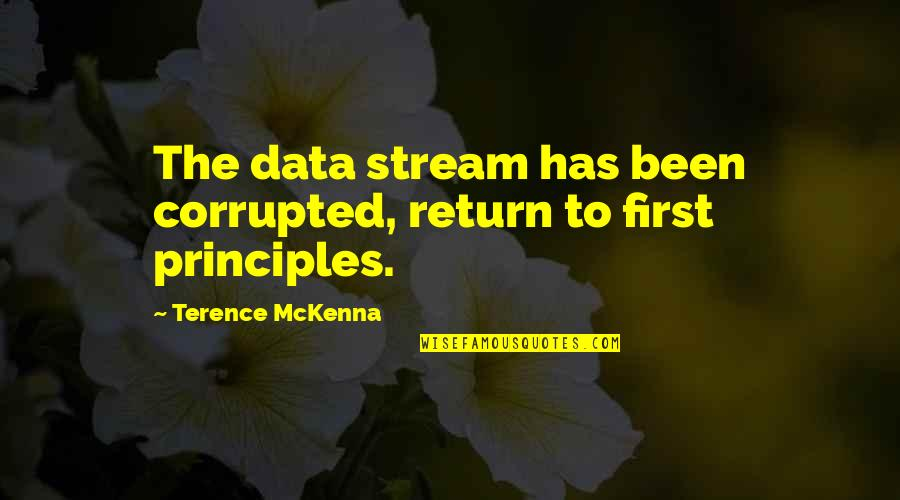 Apa Guidelines Citing Quotes By Terence McKenna: The data stream has been corrupted, return to