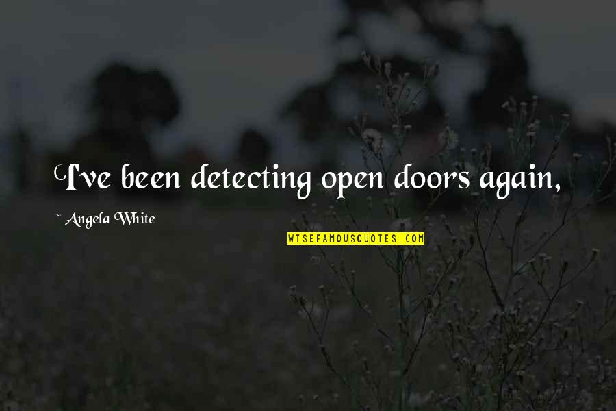 Apple Numbers Stock Quotes By Angela White: I've been detecting open doors again,