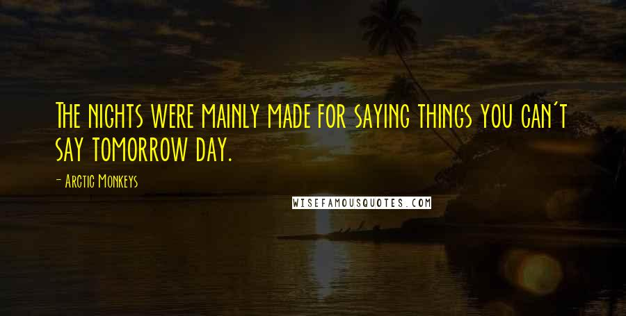 Arctic Monkeys quotes: wise famous quotes, sayings and ...
