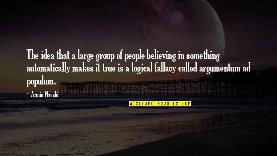 Populum argumentum logical fallacy ad Logical Fallacy: