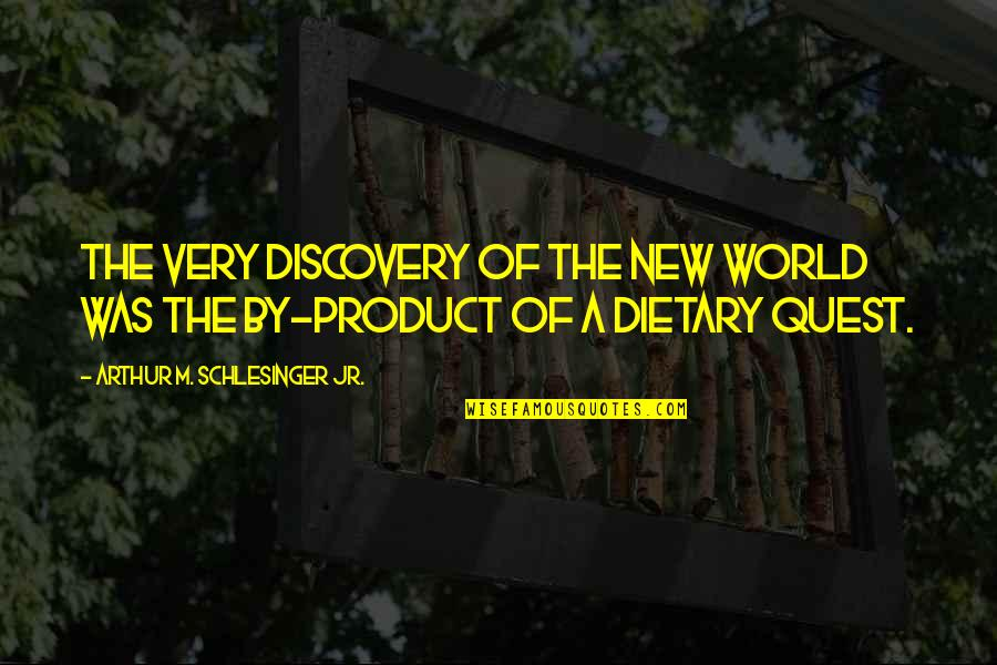 Arthur Schlesinger Quotes By Arthur M. Schlesinger Jr.: The very discovery of the New world was