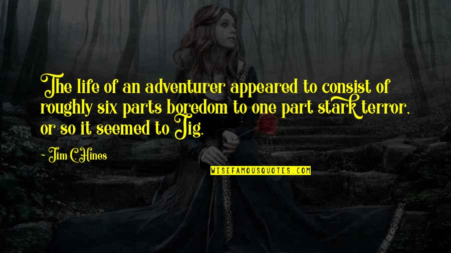 Awesome Sisters Quotes By Jim C. Hines: The life of an adventurer appeared to consist