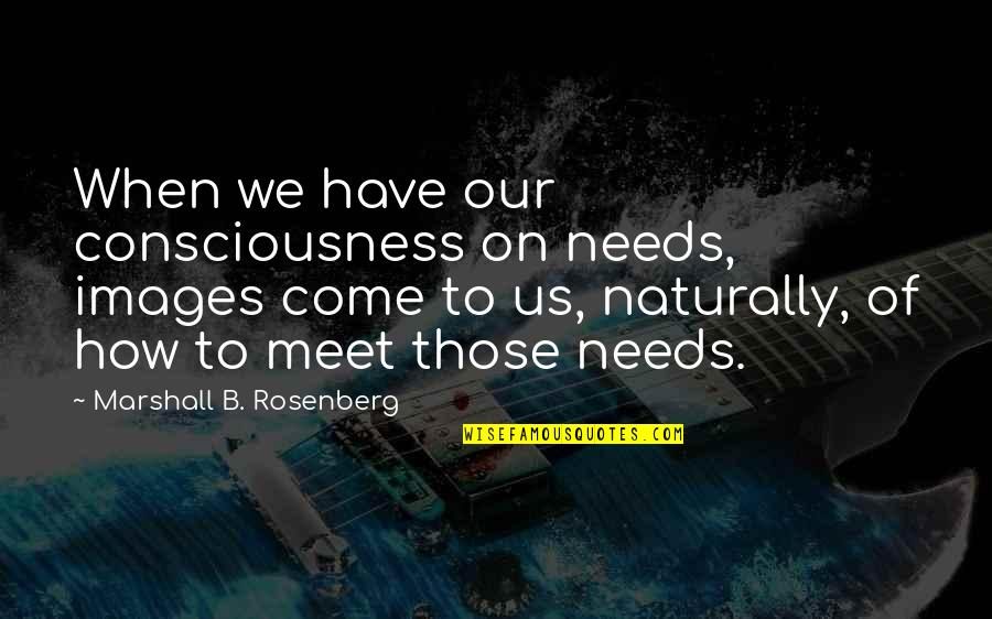 Awkward Season 1 Episode 3 Quotes By Marshall B. Rosenberg: When we have our consciousness on needs, images