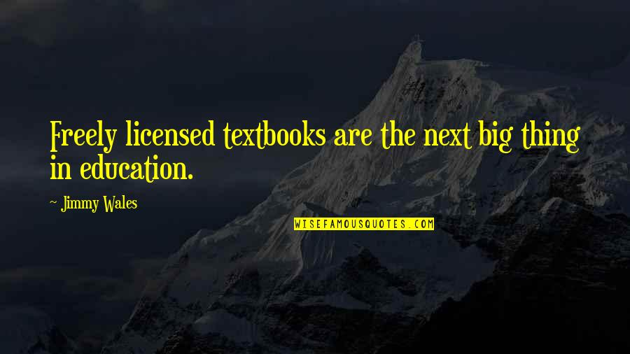 Batman And Robin Cartoon Quotes By Jimmy Wales: Freely licensed textbooks are the next big thing