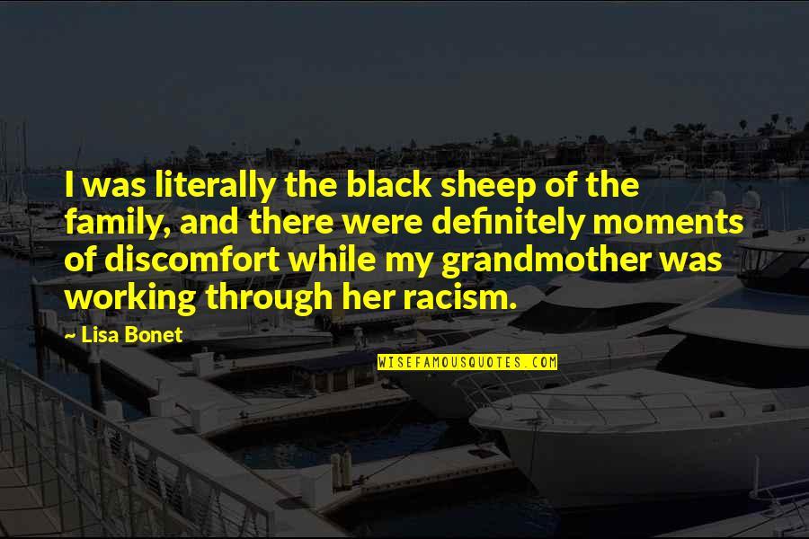 Batman Arkham Origins Death Quotes By Lisa Bonet: I was literally the black sheep of the