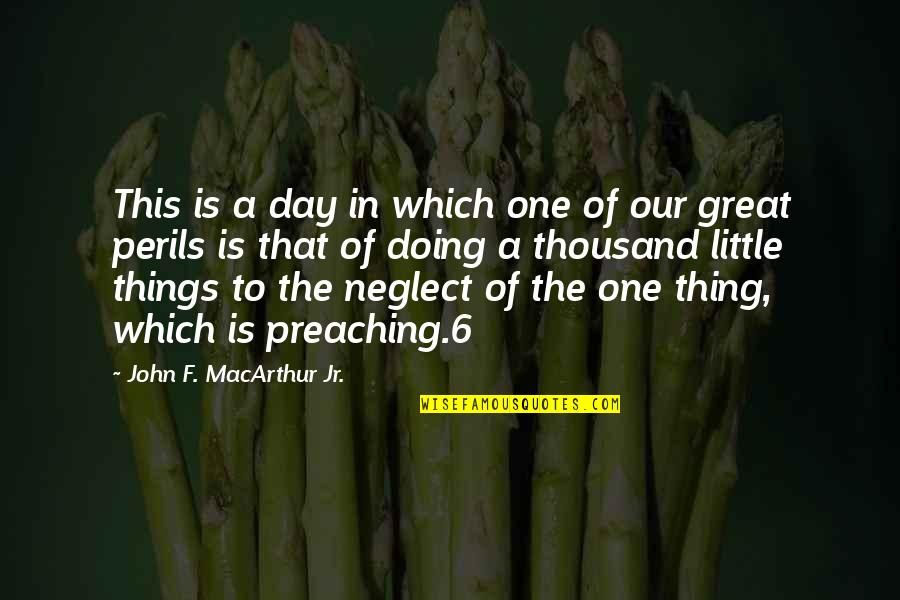 Bayanihan Quotes By John F. MacArthur Jr.: This is a day in which one of