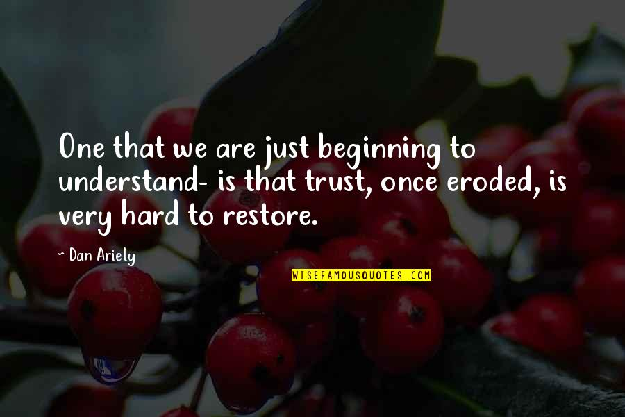 Beach Wall Art Quotes By Dan Ariely: One that we are just beginning to understand-
