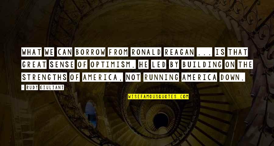 Beauty And The Beast Belle's Magical World Quotes By Rudy Giuliani: What we can borrow from Ronald Reagan ...