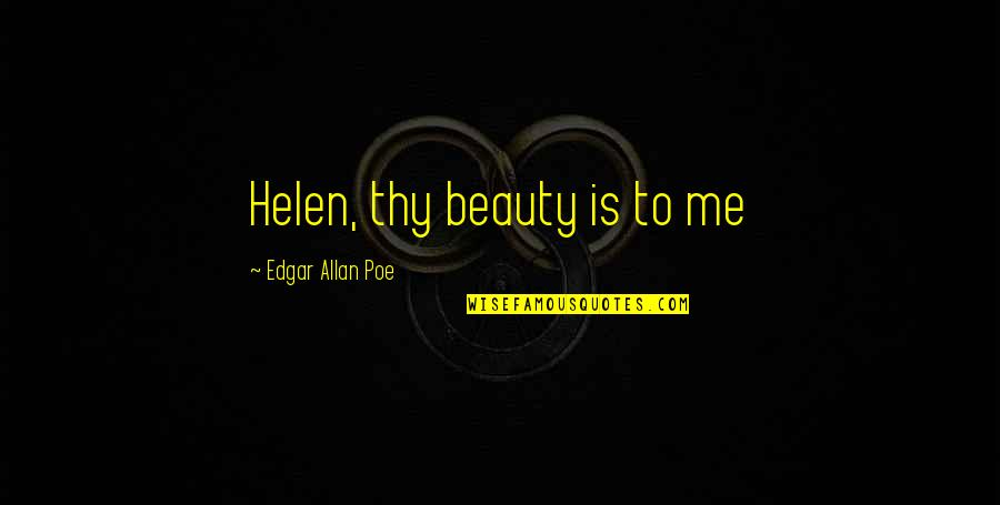 Beauty Edgar Allan Poe Quotes: top 10 famous quotes about ...