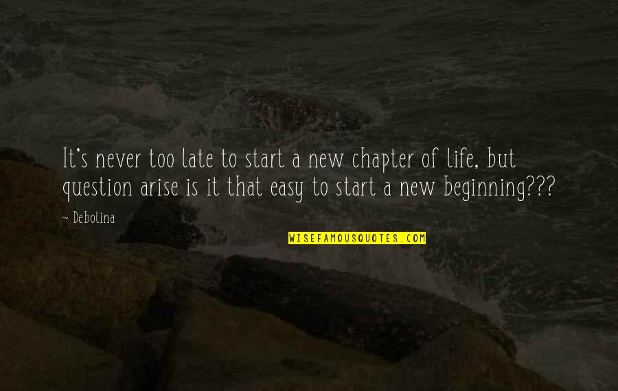 Beginning A New Chapter In Life Quotes: top 9 famous quotes ...