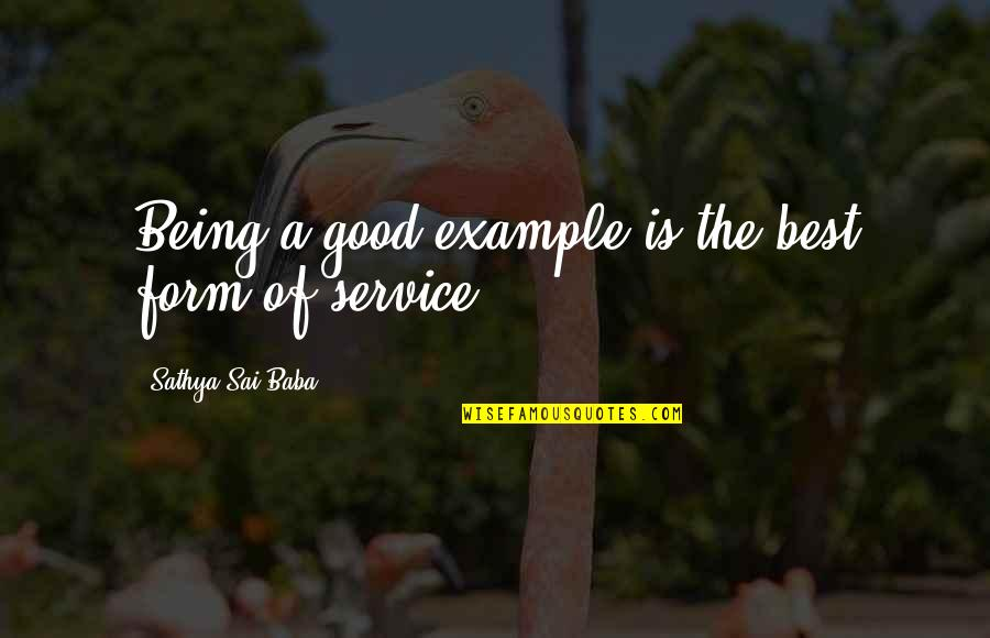 Being A Good Example Quotes Top 16 Famous Quotes About Being A Good