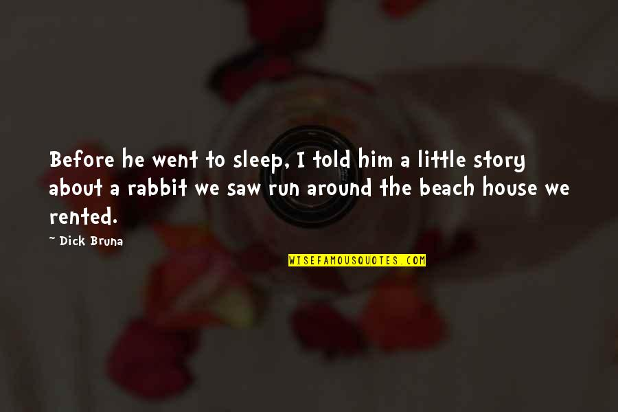 Best Eid Wishes And Quotes By Dick Bruna: Before he went to sleep, I told him