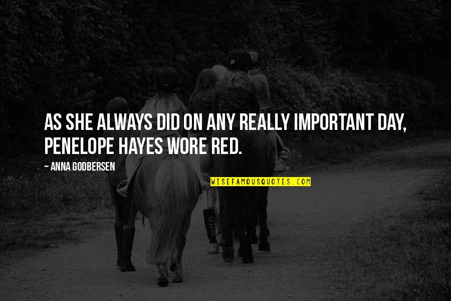 Best Fashion Quotes By Anna Godbersen: As she always did on any really important