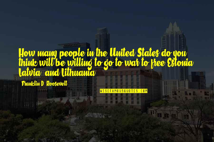 Best Free Thinking Quotes By Franklin D. Roosevelt: How many people in the United States do