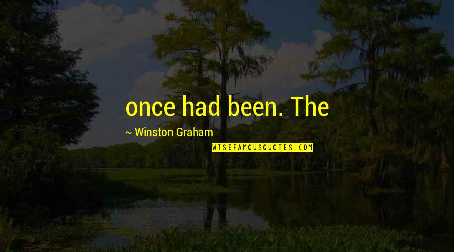 Best Friendship Based Quotes By Winston Graham: once had been. The