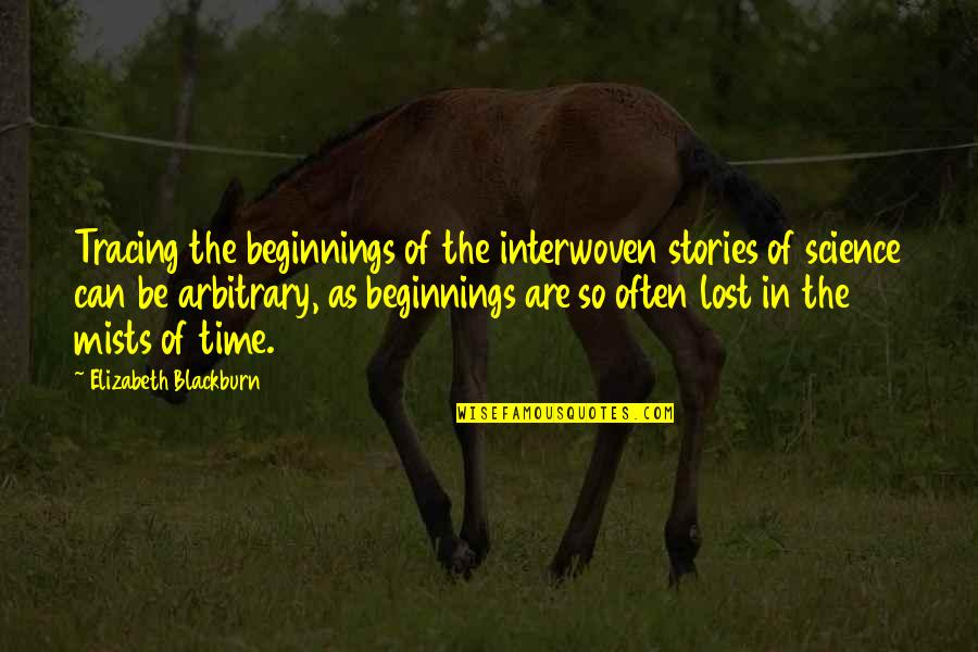 Best Homer Iliad Quotes By Elizabeth Blackburn: Tracing the beginnings of the interwoven stories of