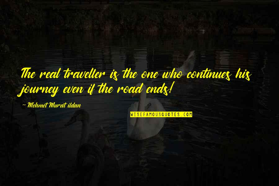 Best Star Wars Droid Quotes By Mehmet Murat Ildan: The real traveller is the one who continues